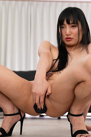 Kaoru Hanayama Intense Anal Masturbation Orgasm
