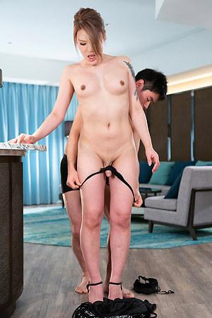 Japan shemale Rui Matsushita Cock Teasing and Forced Orgasm